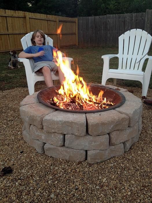 Weekend Fire Pit Revealed