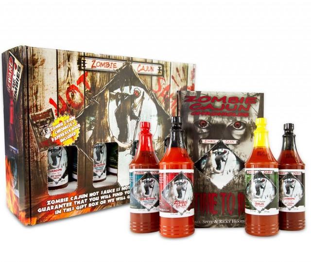 zombine cajun hot sauce