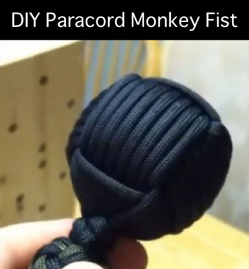 DIY-Paracord-Monkey-Fist from Homestead and Survival
