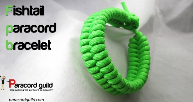 Fishtail Paracord Bracelet by ParacordGuild