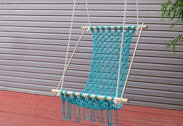 How to Make a Crocheted Hammock from eHow