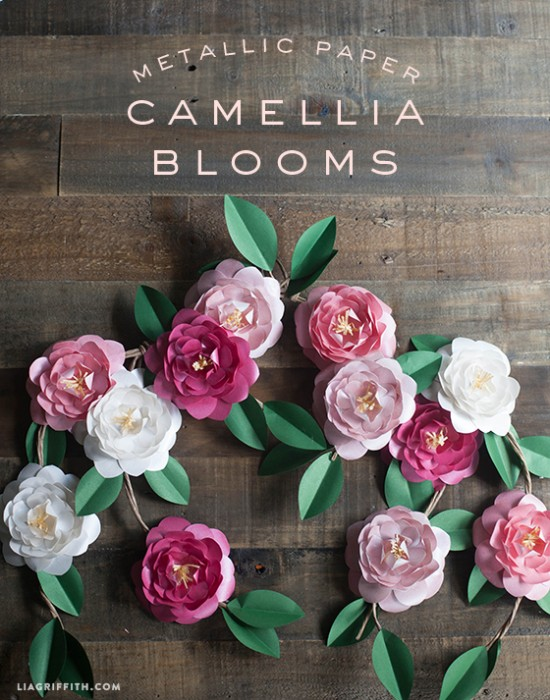 Metallic_Paper_Camellia_Flowers_DIY