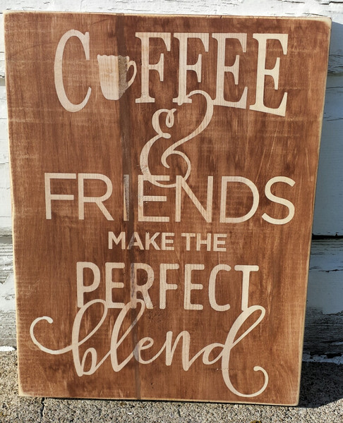 Coffee and Friends the Perfect Blend