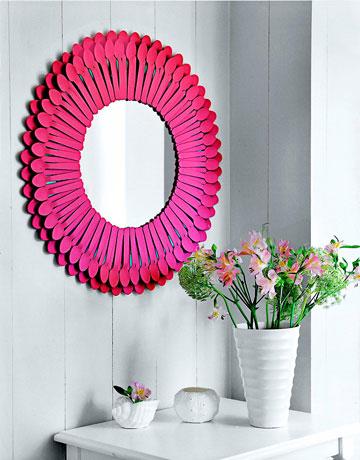 Colorful DIY Mirror