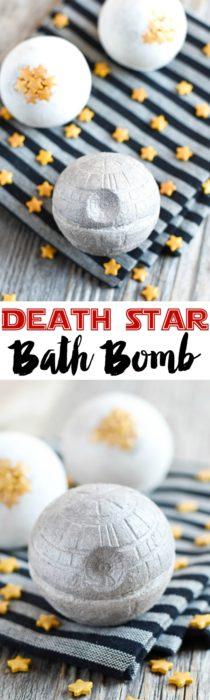 DIY Death Star Bath Bomb