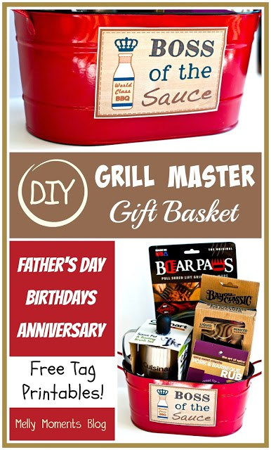 DIY Grill Masters Gift Basket