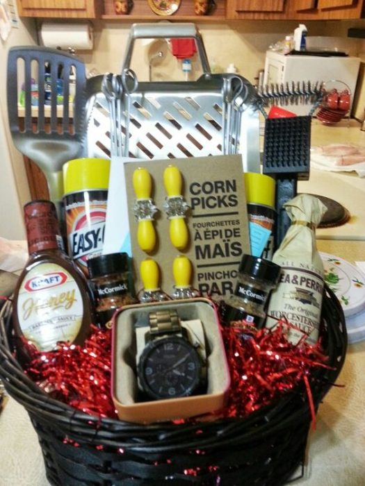 Fathers Day BBQ Gift Basket