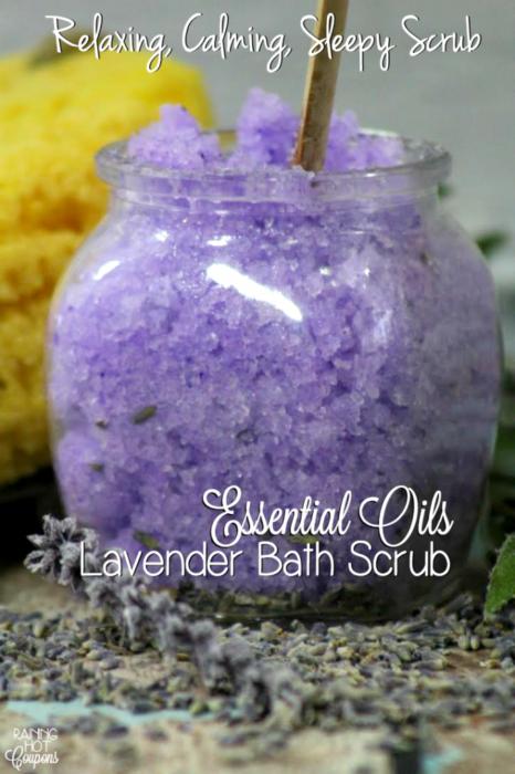 Lavender Bath Scrub
