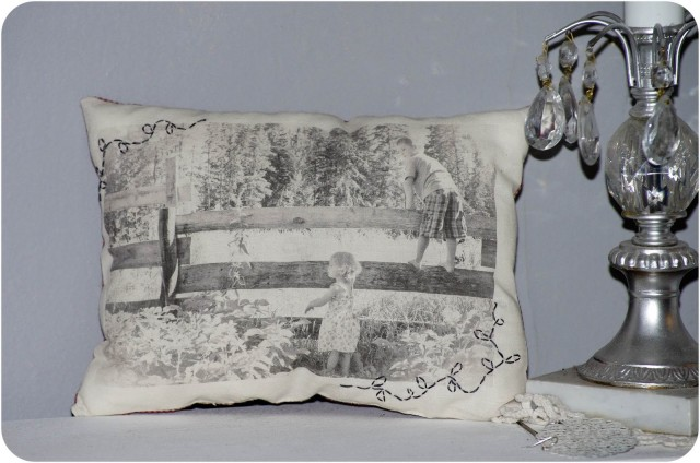 wax paper transfer to canvas pillow-2