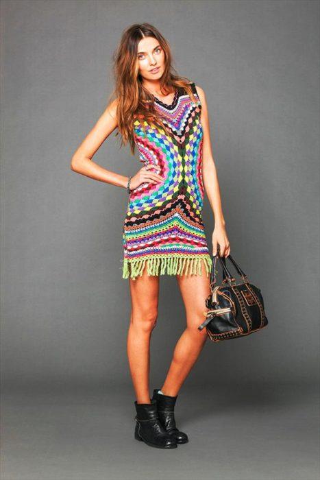 DIY Exclusive Crochet Dress Fashion