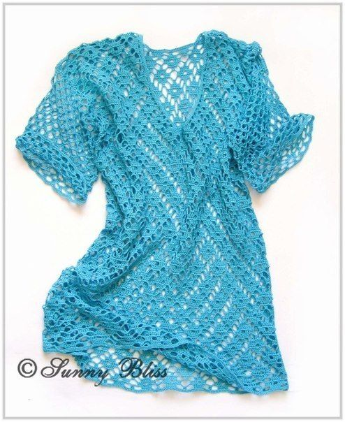 Free Crochet Pattern for Spectacular Tunic