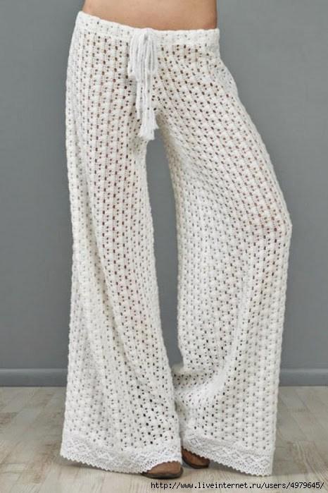 Free Pattern Crochet Pants