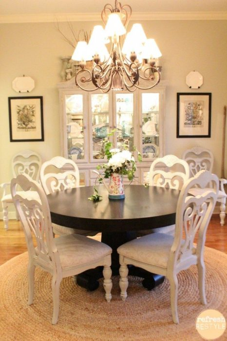 Spray Paint Dining Room Chairs