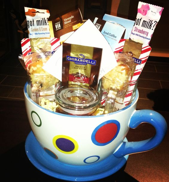 Chocolate Coffee and Goodies Gift Basket
