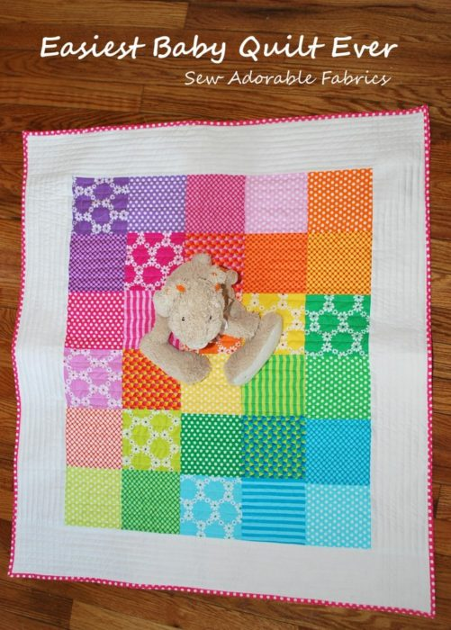 Easiest Baby Quilt Ever