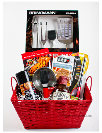 Fathers Day BBQ Basket