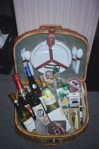 Picnic and Wine Gift Basket