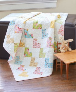 Sweethearts Baby Quilt