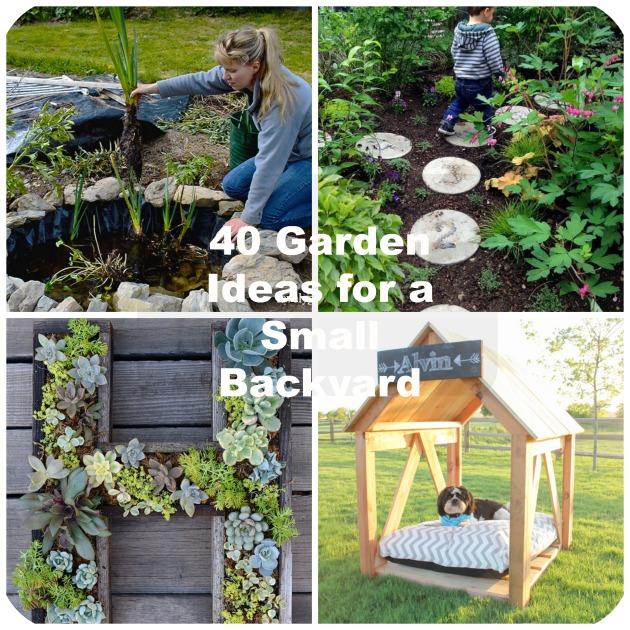 GardenIdeasforaSmallBackyard