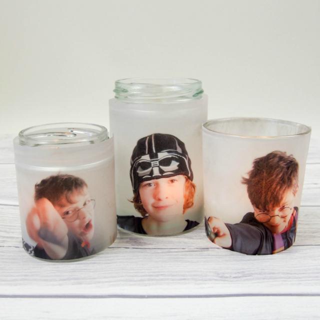 Photo Jar Luminaries