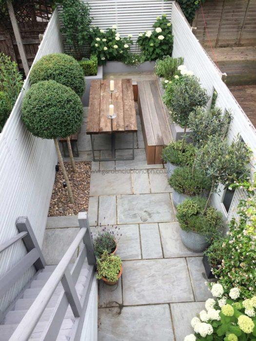 Slim Rear Contemporary Garden Design London