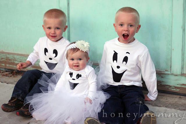 DIY Easy Ghost Costumes