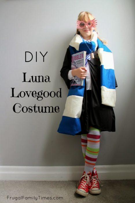 DIY Luna Lovegood Costume