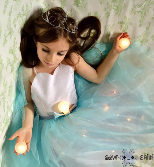 Light Up Princess Dress