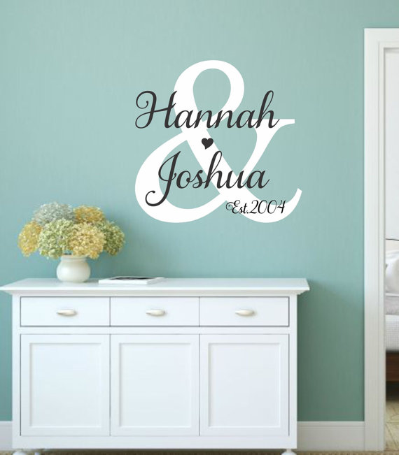 Master Bedroom Wall Decal