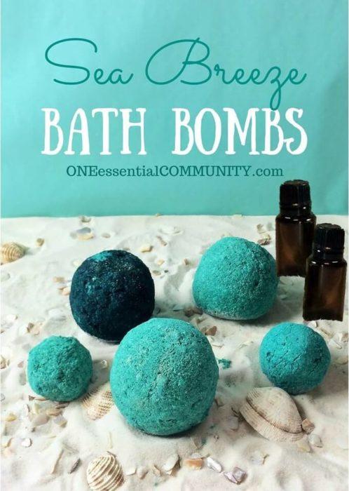 Sea Breeze Bath Bombs