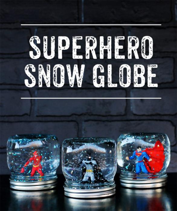 Superhero Snow Globe