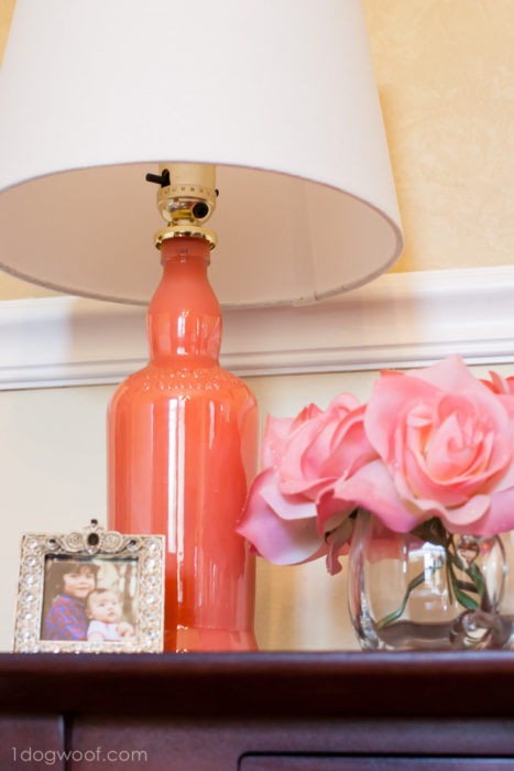 DIY Painted Lamp Upcycle