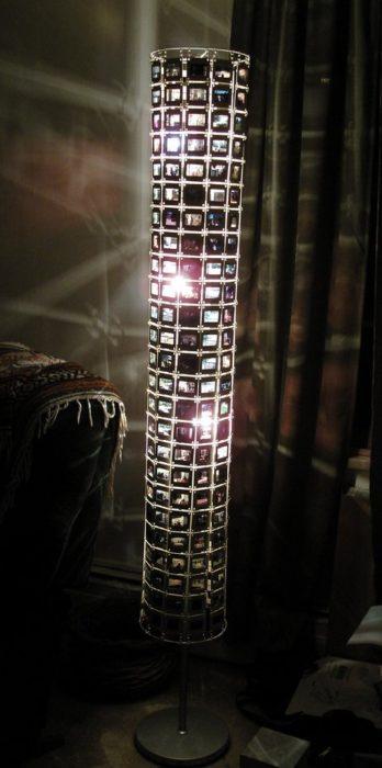 Make Your Own Kodachrome Slide Lamp Shade