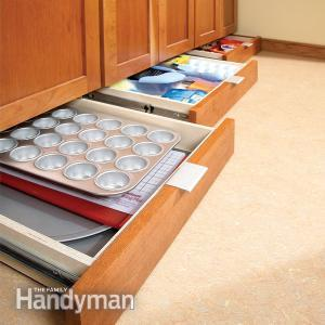 how-to-build-under-cabinet-drawers