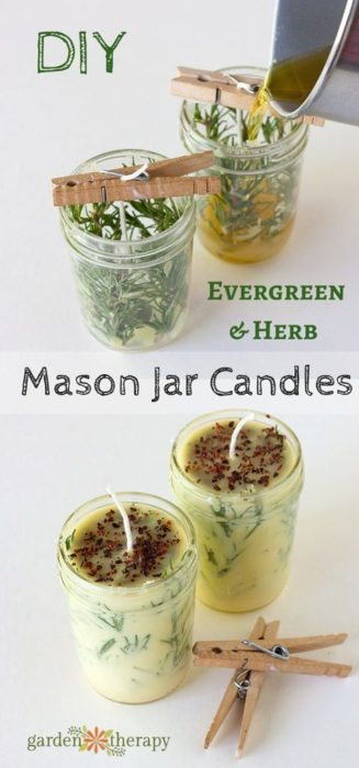 diy-evergreen-and-herb-candles