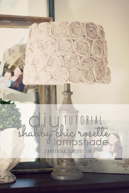 diy-shabby-chic-rosette-lampshade