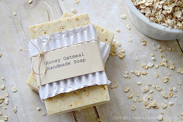 honey-oatmeal-handmade-soap