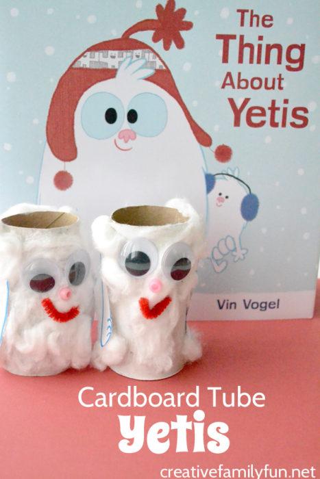 cardboard-tube-yeti-craft