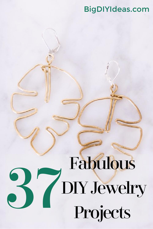 37 Fabulous DIY Jewelry Projects