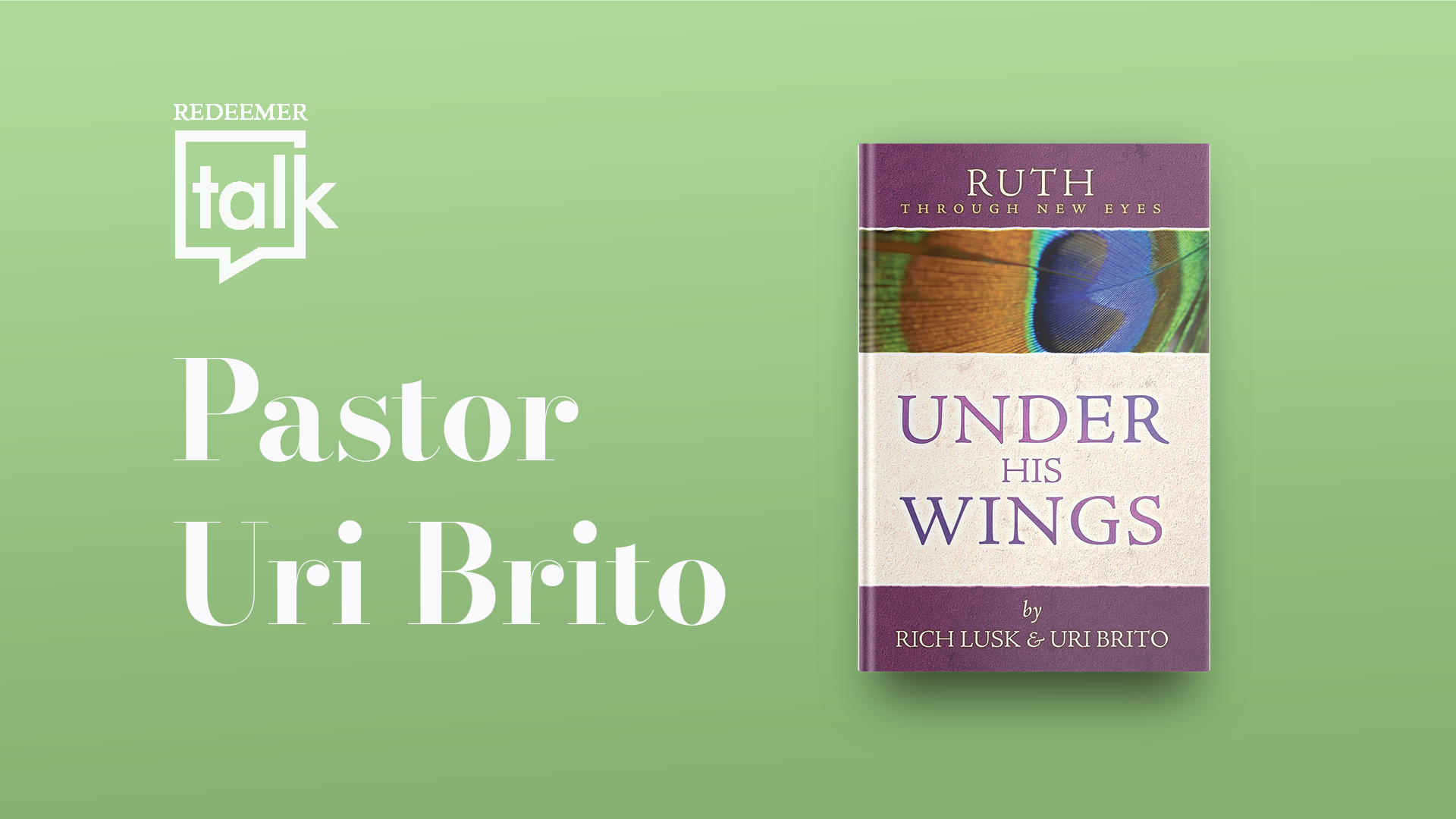 Brito discusses Book of Ruth commentary on church podcast