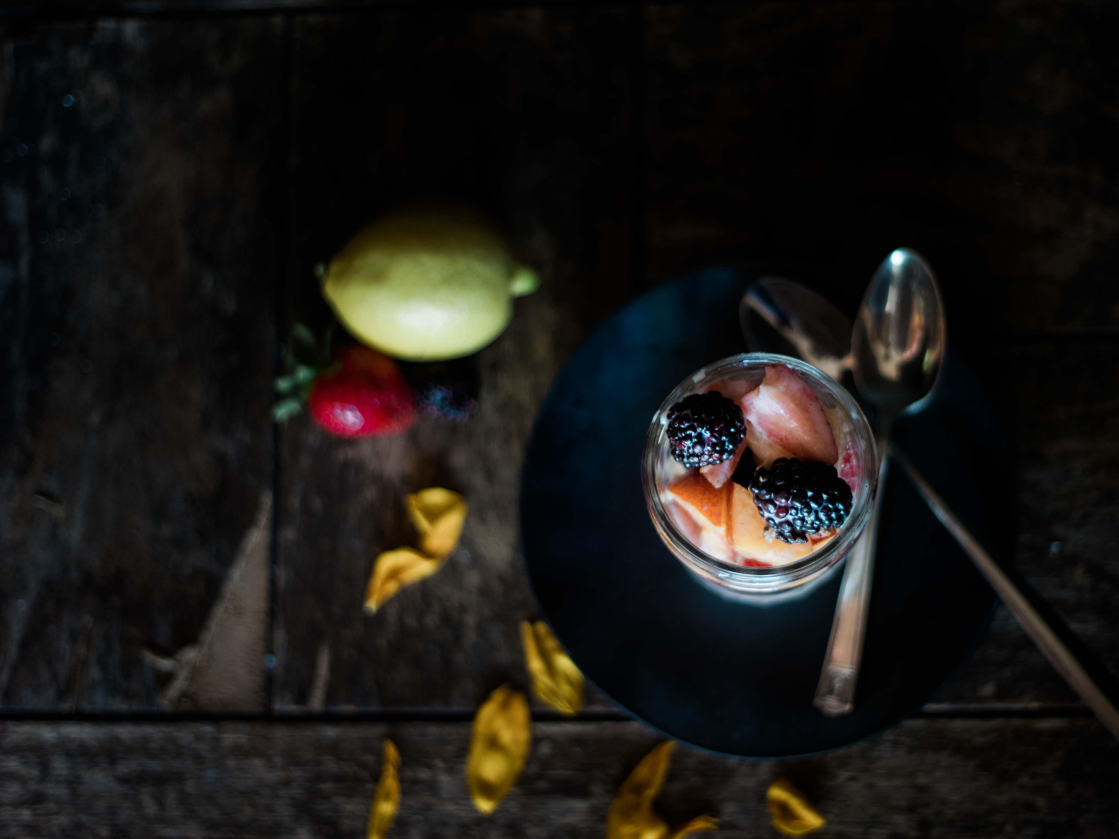 Lemon & Honey Fruit Salad - Secret Life of Bees