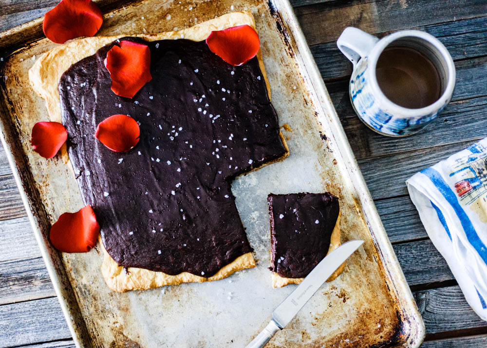 Dark Chocolate Ganache Tart