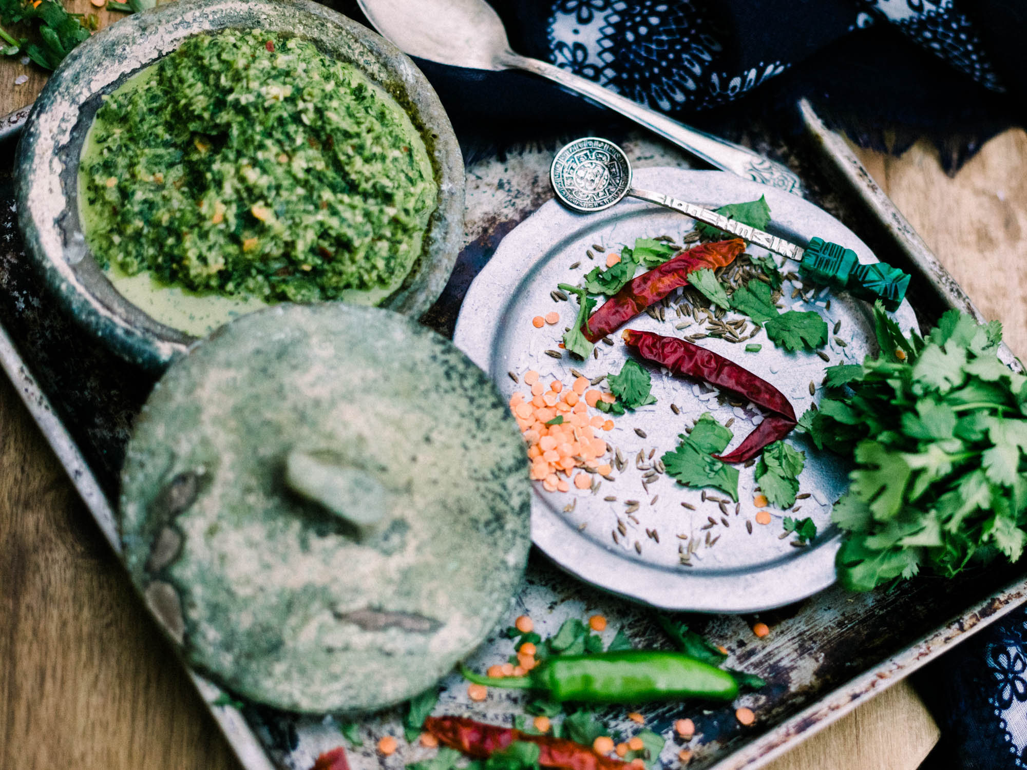 Coriander Chutney | Let's Taco Bout It Blog