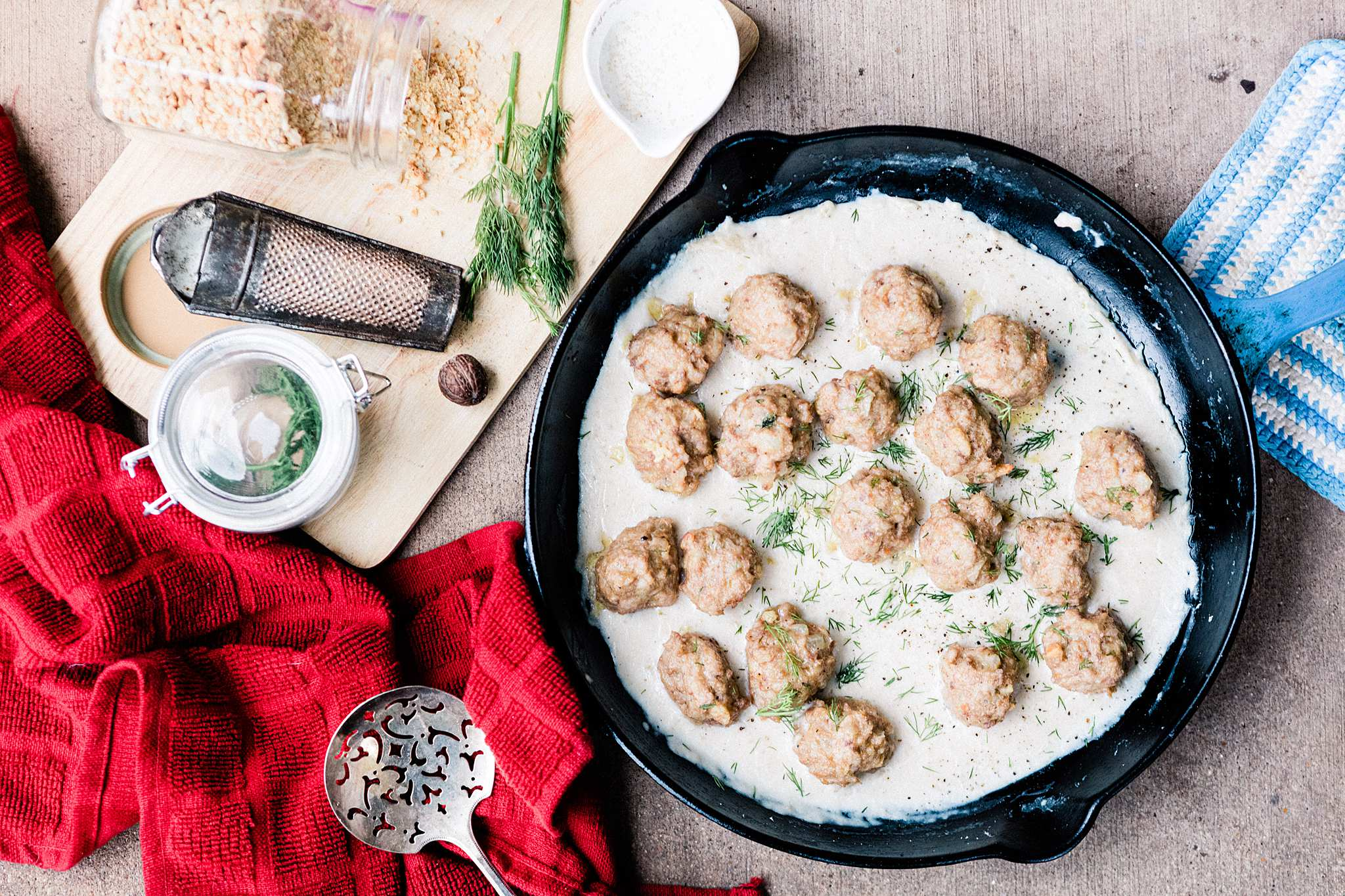 Swedish Meatballs (Kjottboller) - Let's Taco Bout It Blog