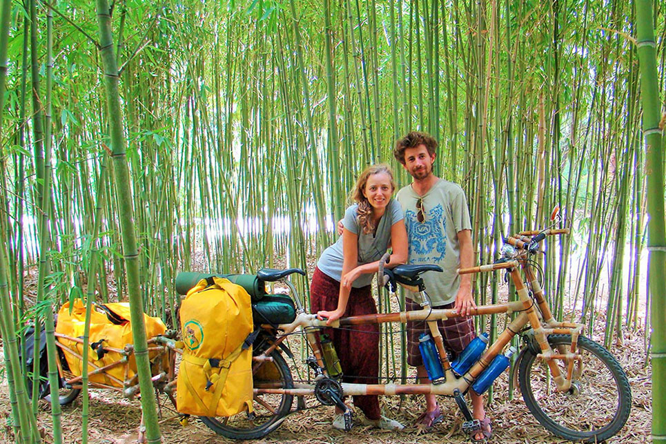 Bamboo Bike Building Workshop led by Nicolas Masuelli in Bali – August 21 -25, 2017
