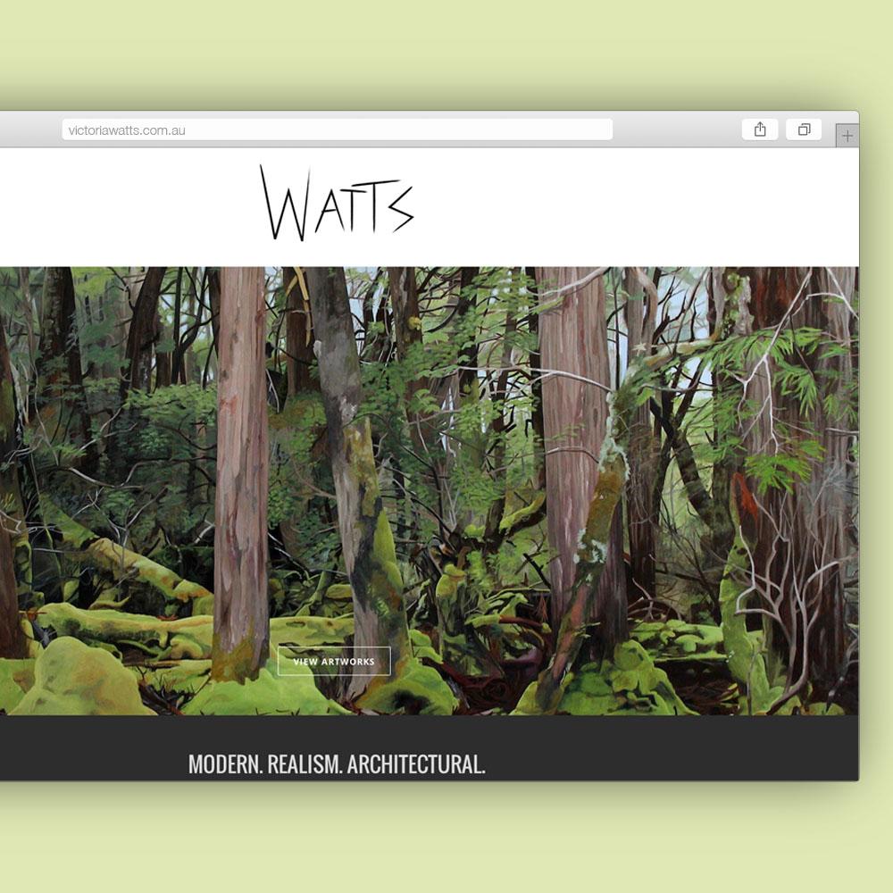Victoria Watts Website