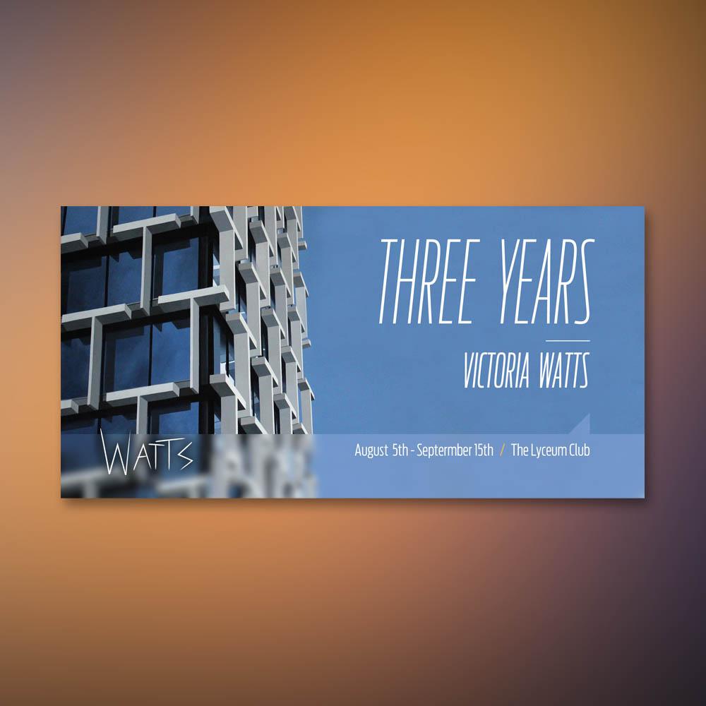 Victoria Watts 2015 Exhibition