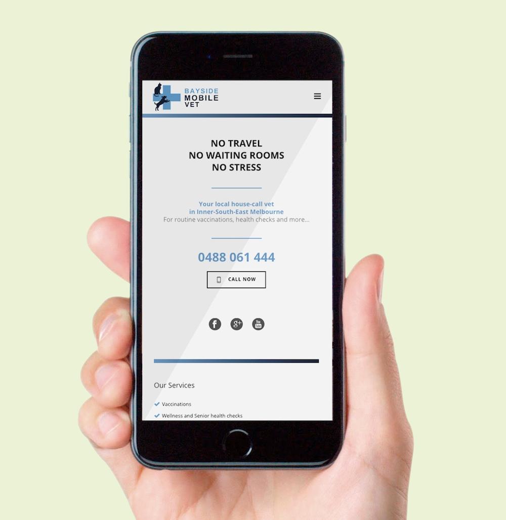 Mobile responsive homepage