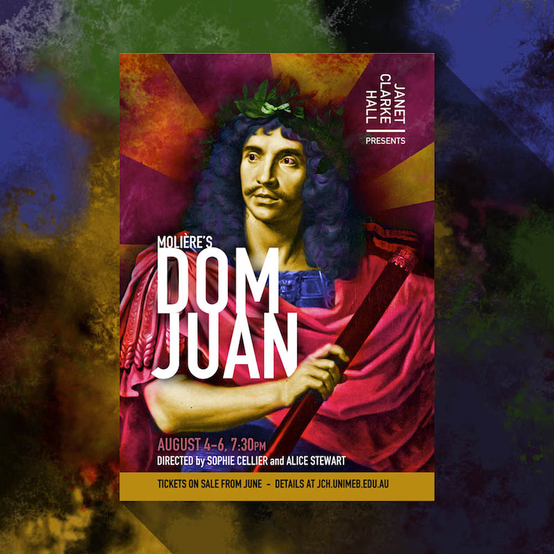 Dom Juan Play Launch Poster
