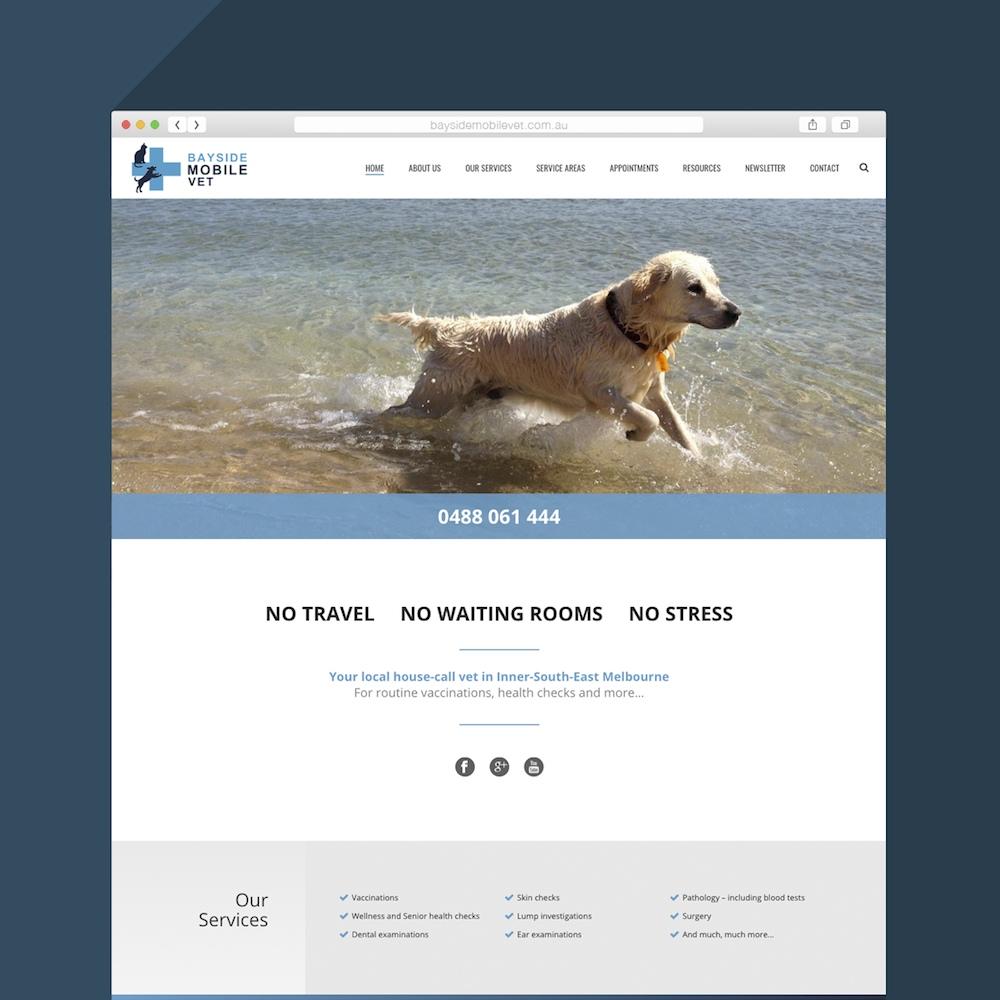 Bayside Mobile Vet Website 2.0